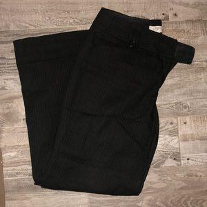 Loft pinstripe flare/wide leg trousers- Julie